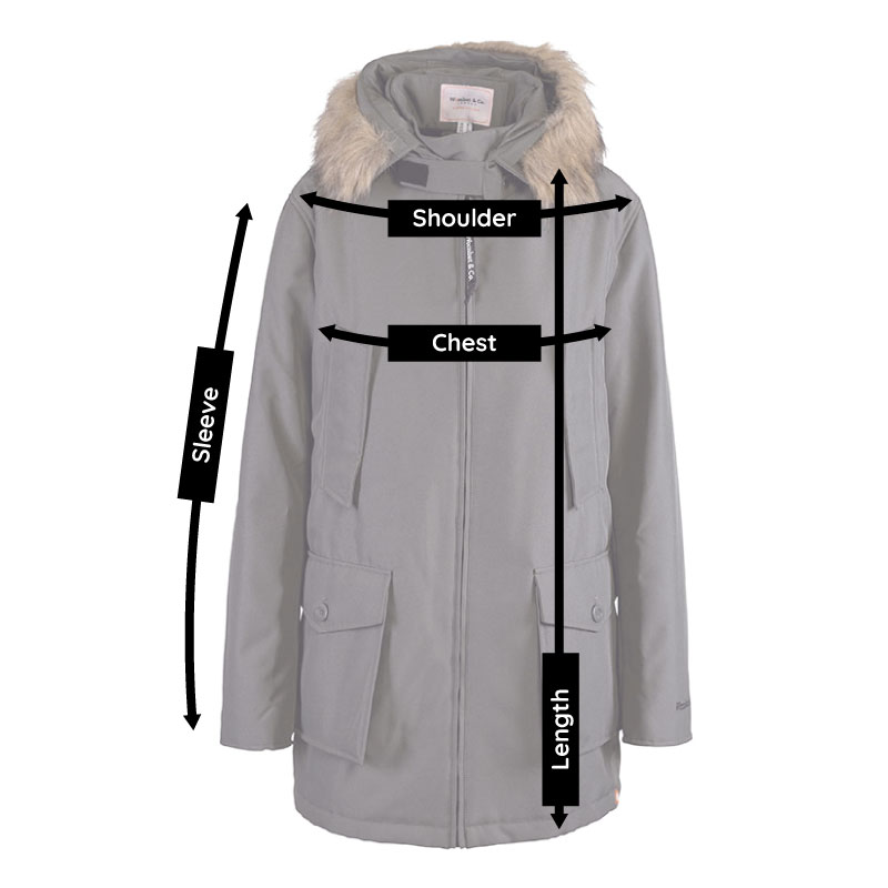 mens babywearing coat size guide