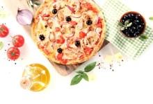 Photo of פיצה ביתית בתוספת טונה מעושנת