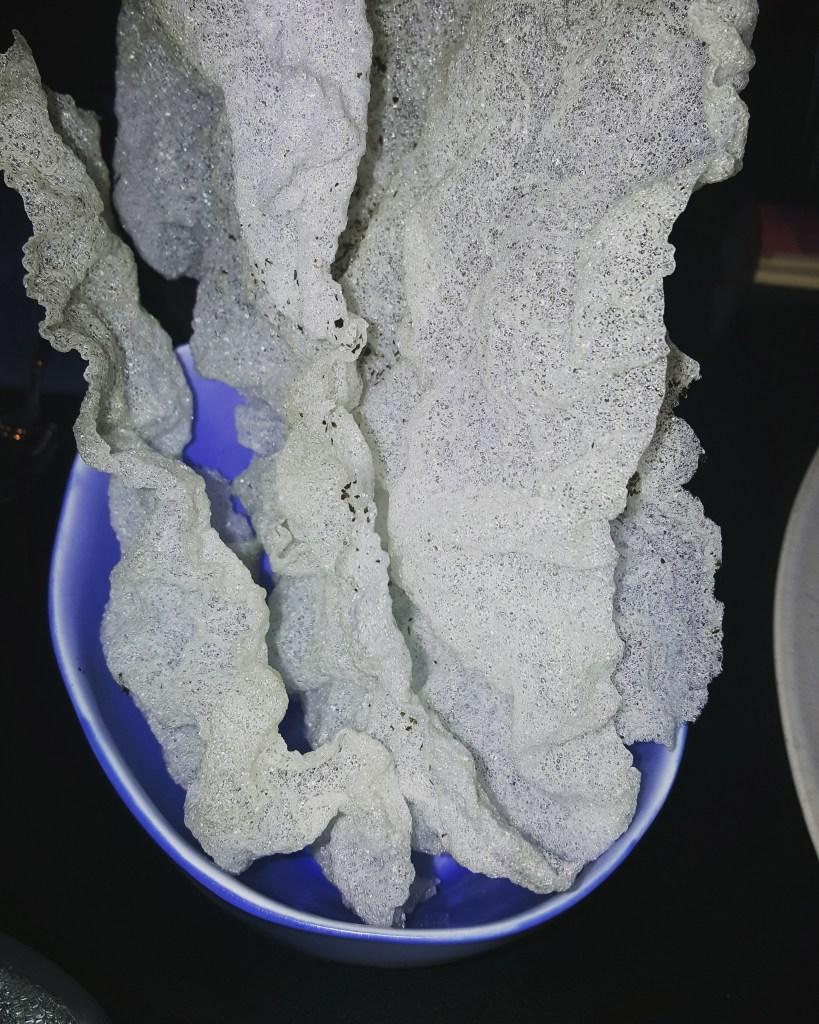 דפי אורז מטוגנים עם מלח אצות לימה ניפו