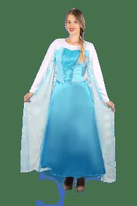 תחפושת אלזה הנסיכה למבוגרים