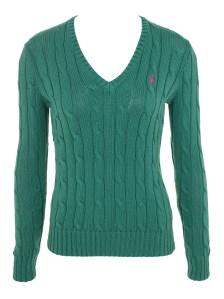 סוודר ירוק ראלף לורן