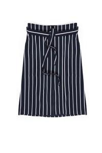 חצאית פסים כחול לבן נאוטיקה