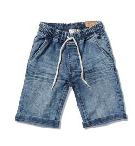 מכנס ג'ינס עד הברכיים לבנים