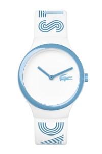 שעון לאקסוט בכחול-לבן