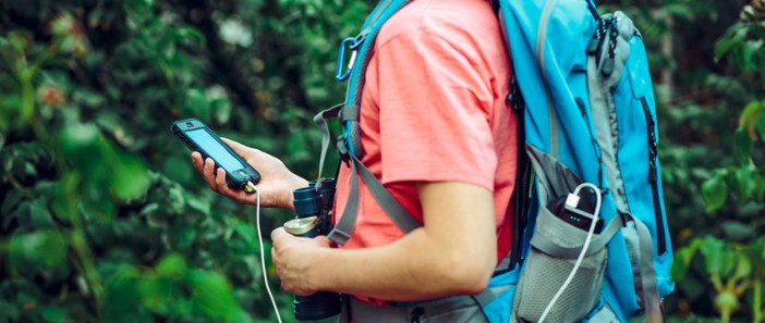 מטיילים עם אייפון