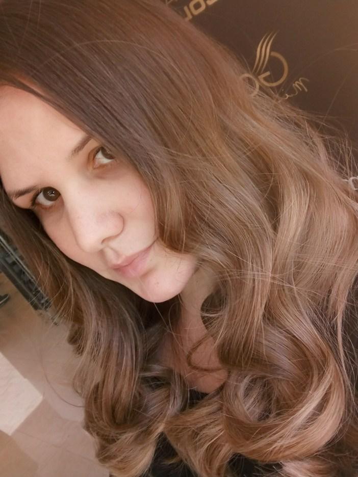 השיער שלי אחרי גוונים של מון פלטין