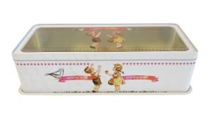 קופסה לאחסון עוגת אינגליש קייק ברשת זול סטוק
