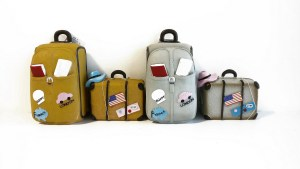 קופות חסכון בצורת מזוודה של רשת זול סטוק