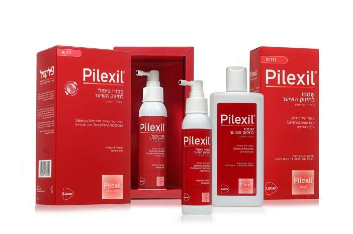סדרת מוצרי הטיפוח לשיער של חברת פילקסיל- Pilexil