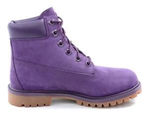 נעלי טימברלנד סגולות לילדים