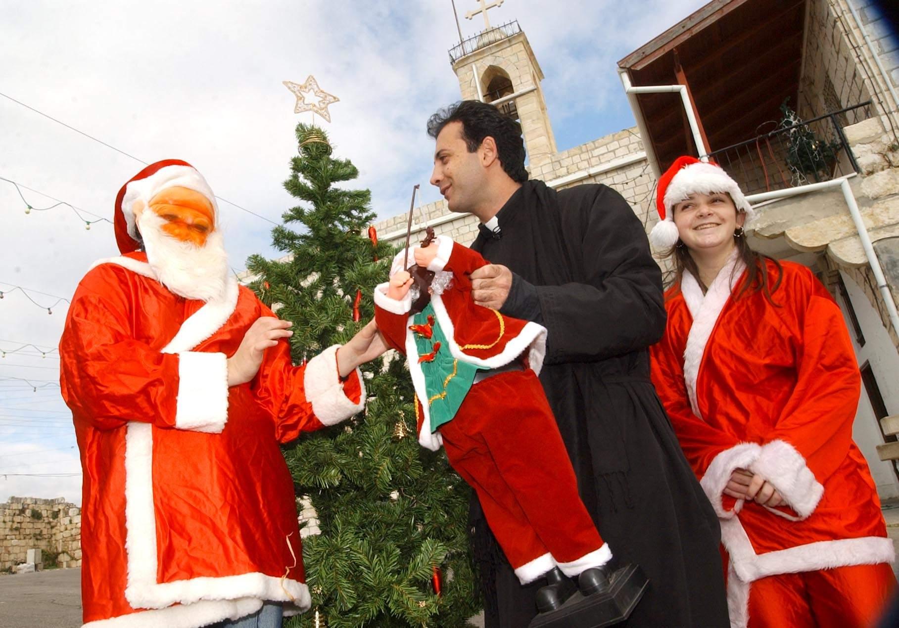 חג המולד בכפרי הגליל המערבי