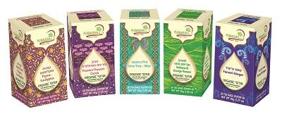 סדרת תה עדנים של חברת ליב