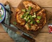 ארוחת ערב בכמה דקות עבודה: פיצדייה (פיצה – טורטייה)