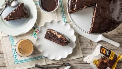 Photo of עוגת שוקולד עם שכבת קוקוס כשרה לפסח