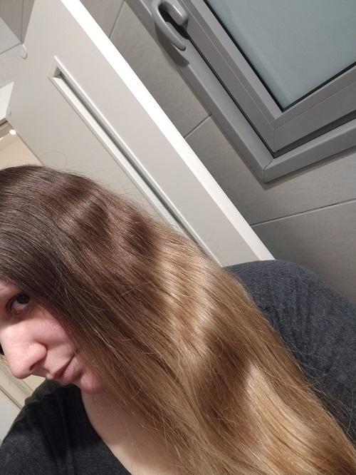 השיער שלי לפני הצביעה
