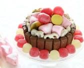 מתכון לעוגת שוקולד חגיגית וצבעונית
