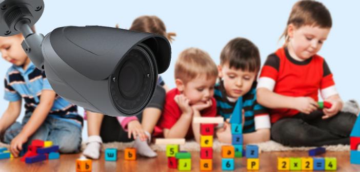 מצלמות אבטחה בגני ילדים