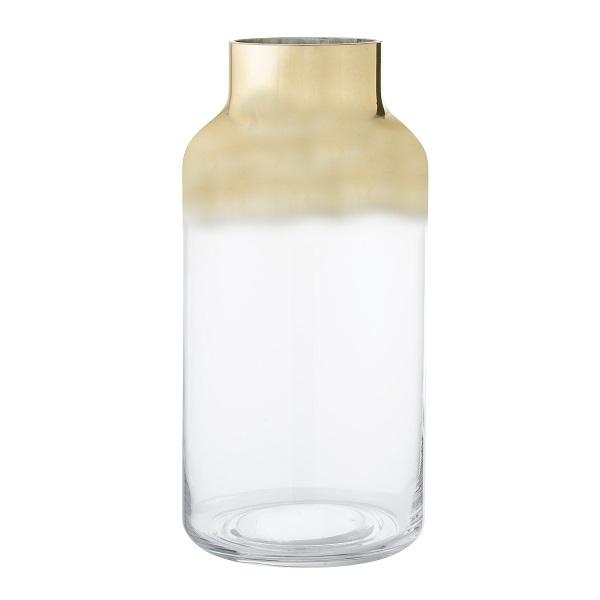 אגרטל זכוכית זהב - גלוריה מונדי