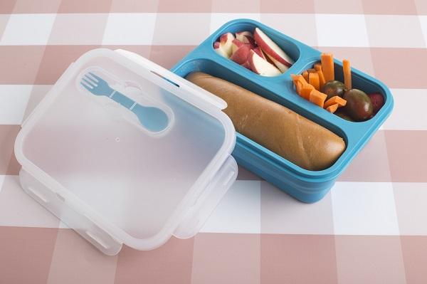 קופסת אוכל מתקפלת של נעמן