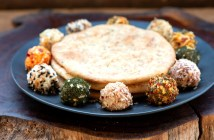 כדורי גבינה מתובלים טבעוניים