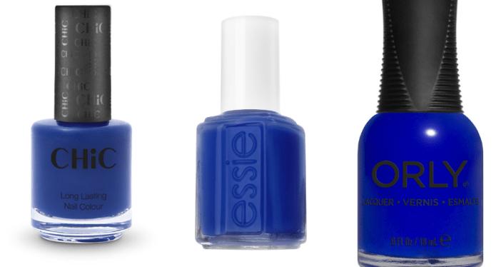 לקים בגוון כחול אלקטריק