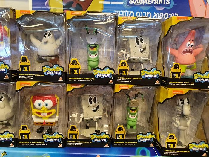 בוב ספוג בתערוכת הצעצועים