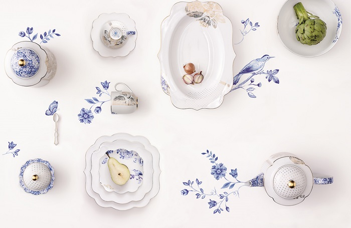קולקציית white collection של PIP STUDIO