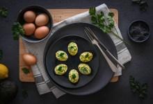 Photo of ביצים ממולאות באבוקדו