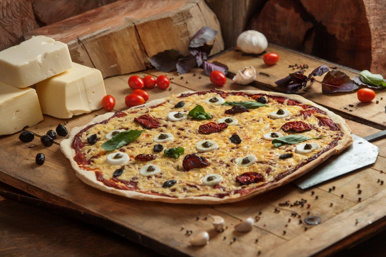 פיצה טבעונית משומשו