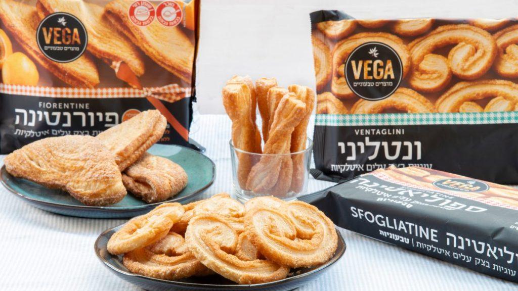 עוגיות מבצק עלים טבעוניות מבית VEGA