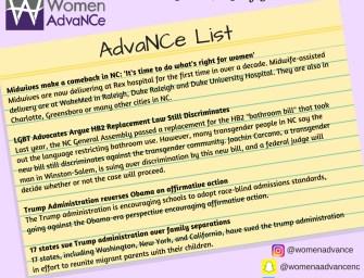 AdvaNCe List June 28-July 5