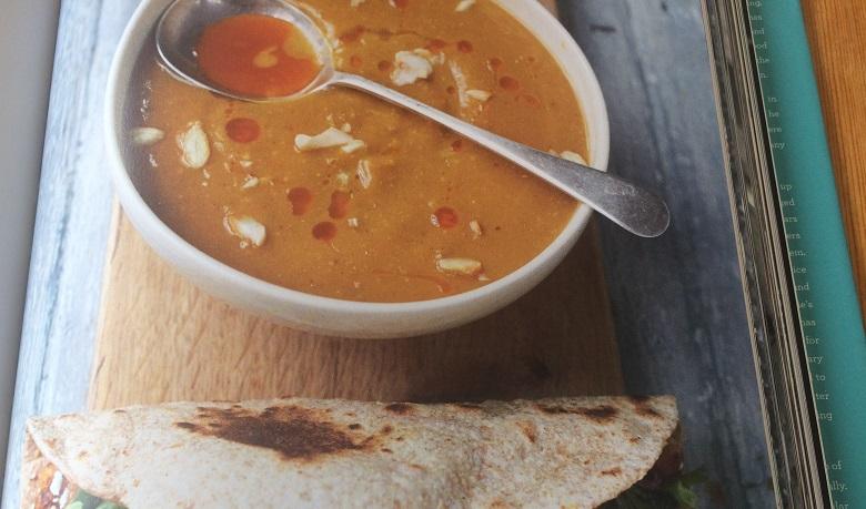Jamie Oliver cosy squash soup