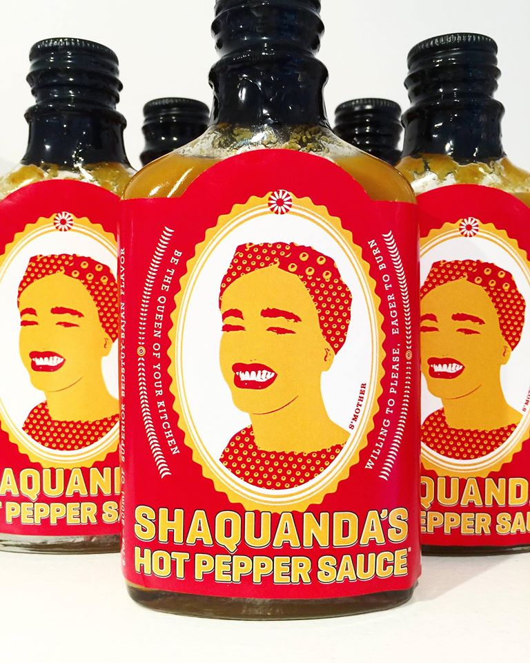 Shaquanda's Hot Pepper Sauce (Hot sauce)