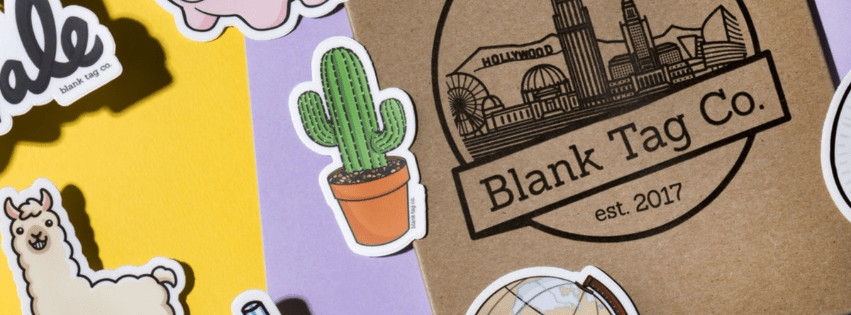 Blank Tag Co. (Stickers with a story – a cultural story)