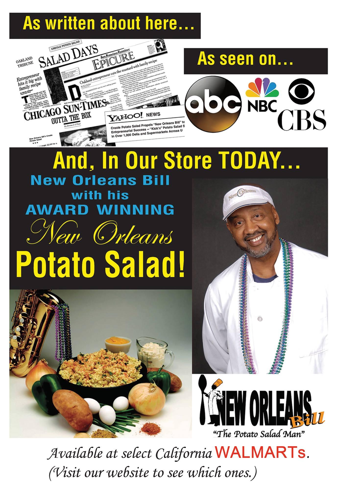 New Orleans Bill – Wholesale Creole Potato Salad