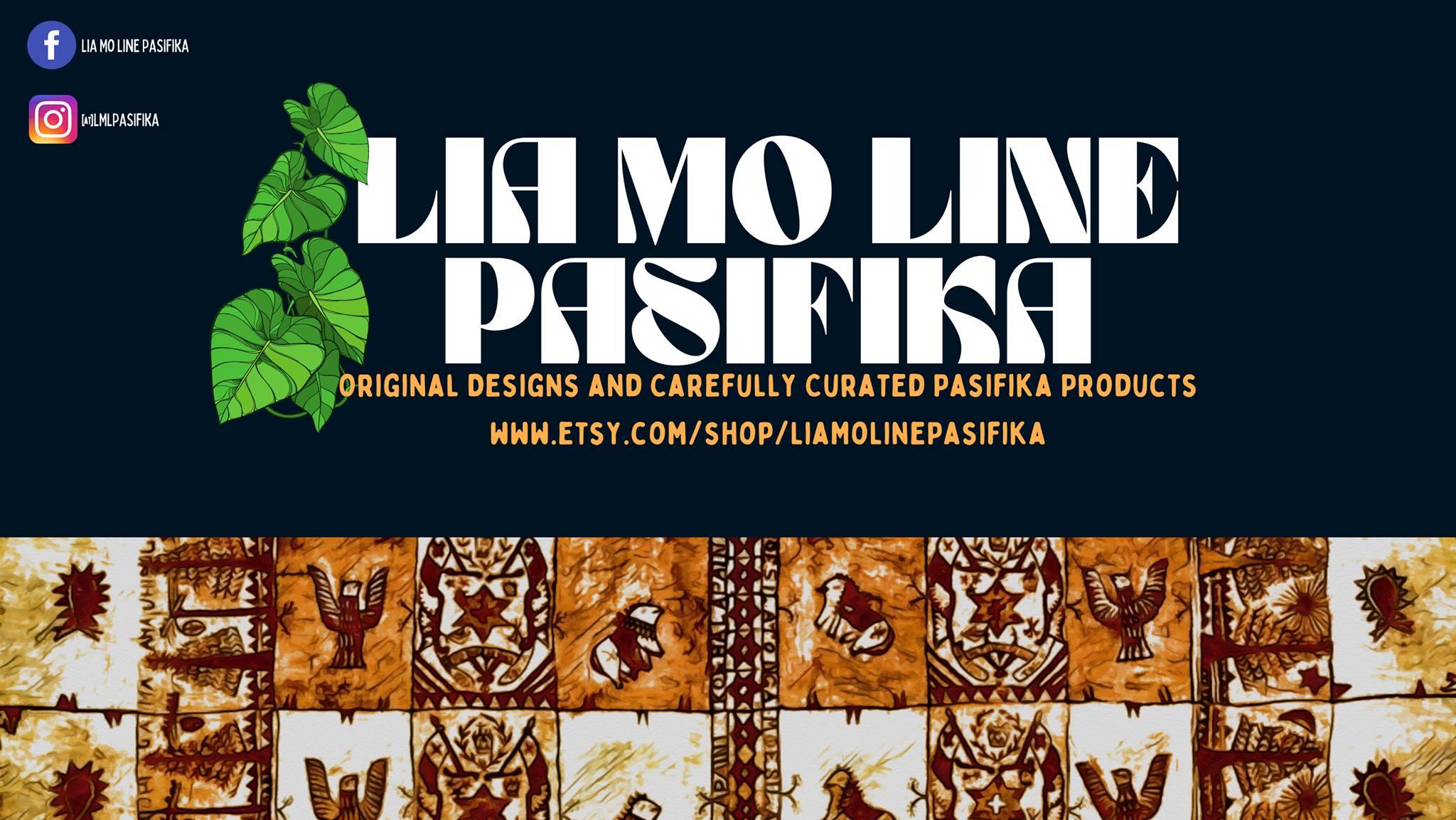 Lia Mo Line Pasifika – Pasifika-themed and created merchandise