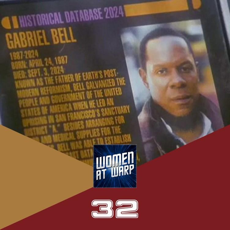 Sisko as Gabriel Bell