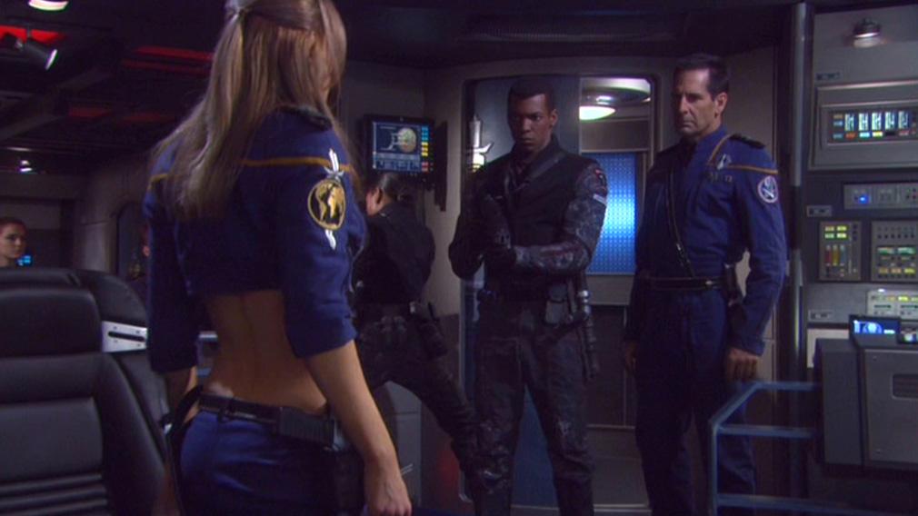 The Mirror Universe Crew Of Enterprise In Through A Darkly