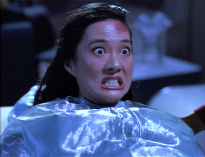 Keiko in labour in Disaster