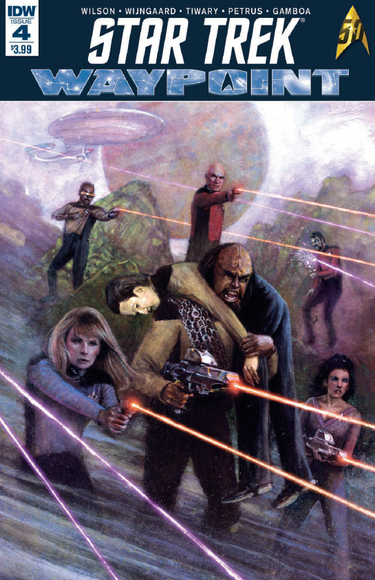 Cover of Star Trek: Waypoint 4