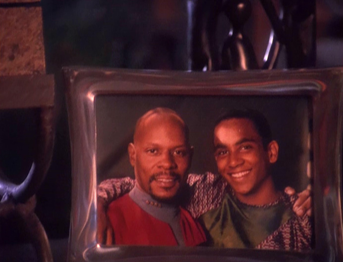 Photo of Ben and Jake Sisko