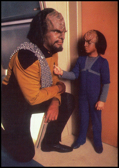 Worf and Alexander