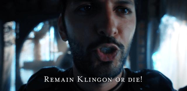 Tyler says Remain Klingon or Die