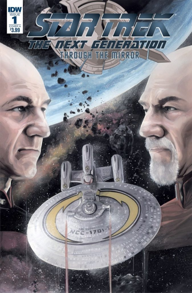 Cover Star Trek Through the Mirror