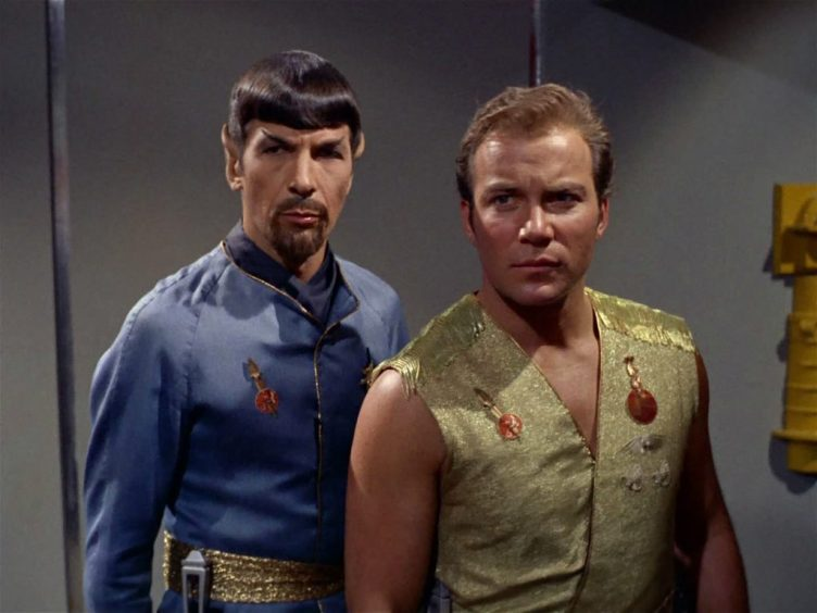 Mirror Kirk and Spock