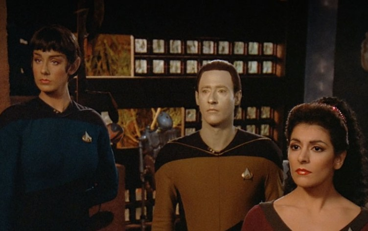 Selar, Data and Troi