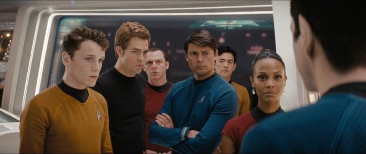 The cast of Star Trek (2009)