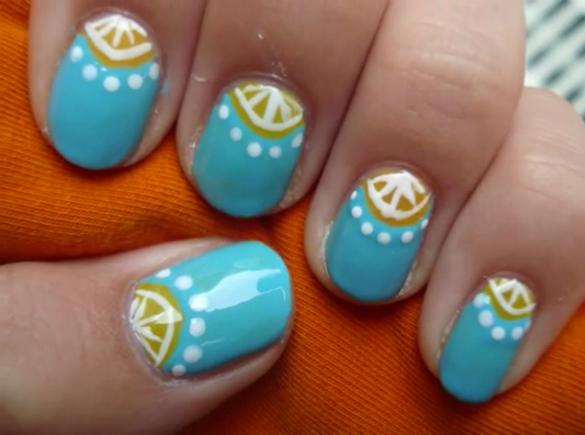 Easy Summer Nail Art Designs 7