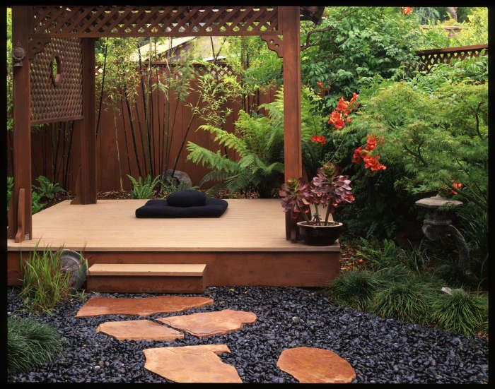 Meditation Garden Guide for a Relaxing Space - Women Daily ... on Meditation Patio Ideas  id=96736