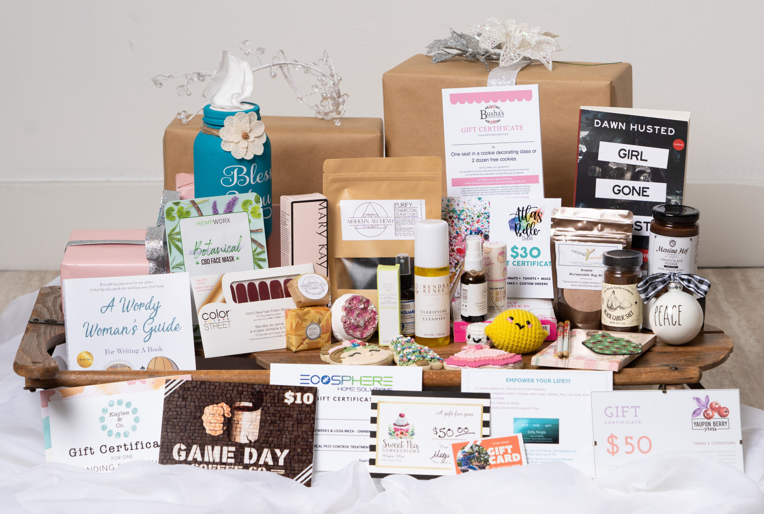 Press Release: WE BCS Creates Holiday Boxes To Highlight Local Women Entrepreneurs And Help Boost Local Economy During Pandemic